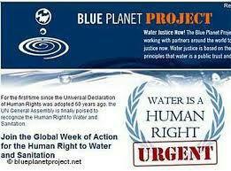 Le document «Projet Planète Bleue