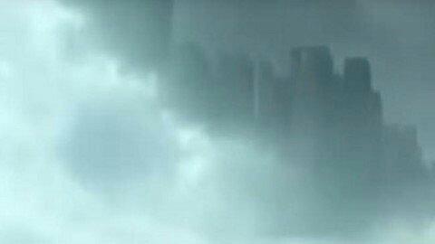 """Une mystérieuse """"ville volante"""" affole de nombreux Chinois"""