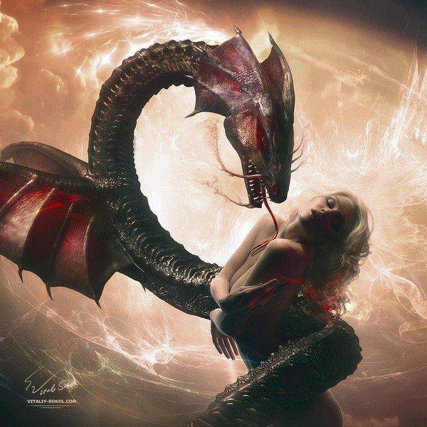 Eve et son Serpent ;)