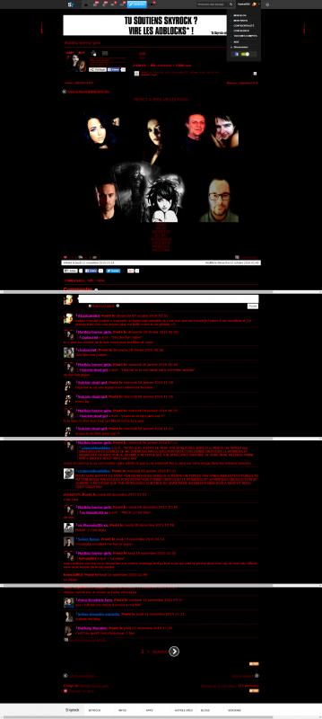 Allez voir  le superbe blog d'Enfer de mon amie Matilda-Horror-Girls!