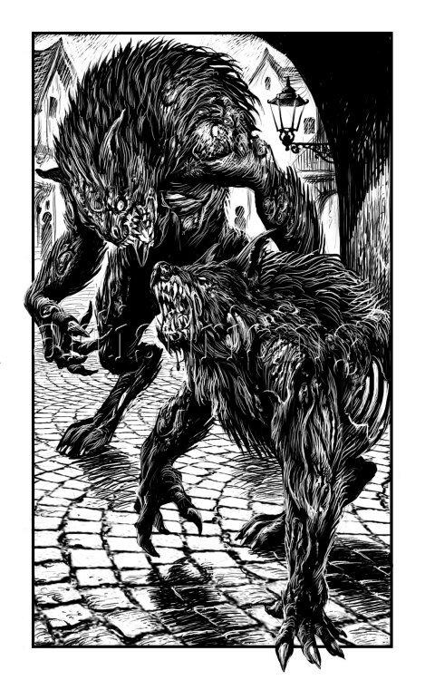 Cas troublants dans les affaires de Loups-Garous