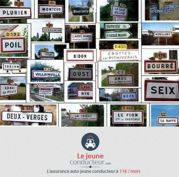 Lol typiquement Français ces villages,surtout leurs noms!