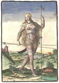 Je vous présente mes ancêtres:Les Guerrières Picte