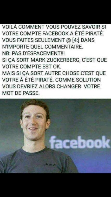 Pour ceux qui ont un compte Facebook