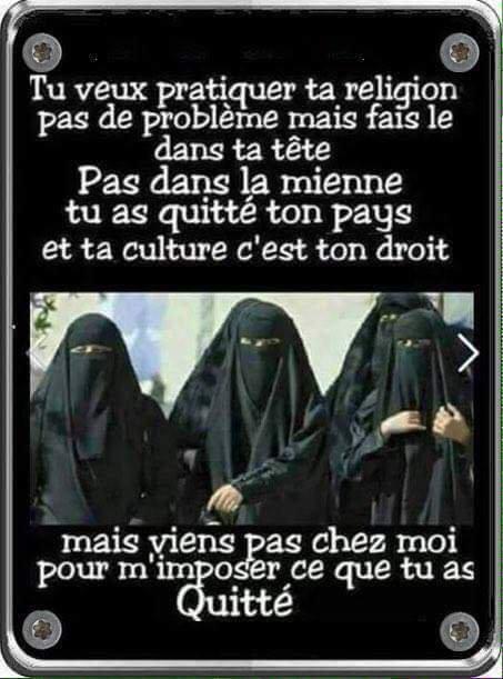 Les femmes chassées d'un quartier entier de Paris !!! Non à la radicalisation,Non au Fanatisme,NON à l'Extrêmisme!!!