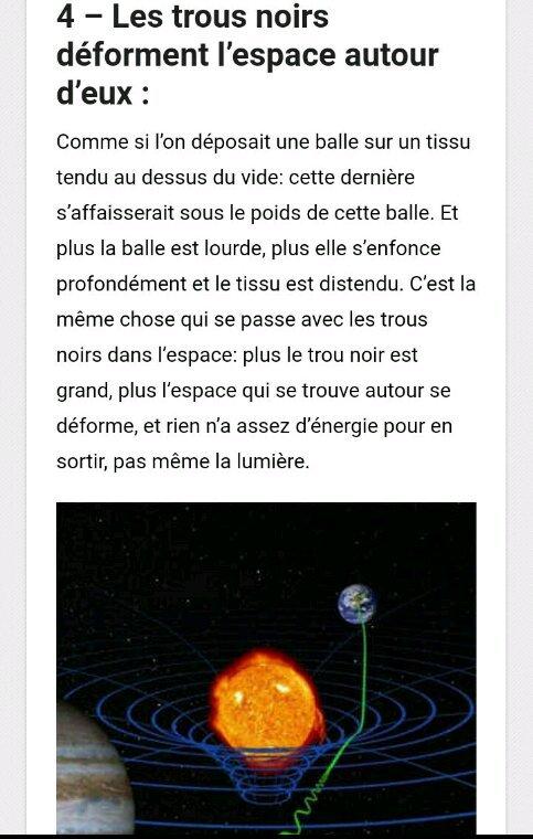 10 faits fascinants sur les trous noirs