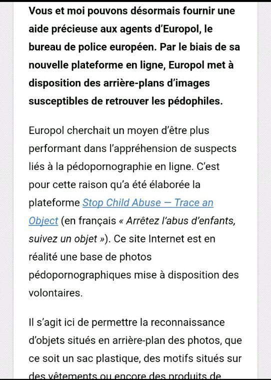Pédophilie : n'importe qui peut maintenant aider Europol à traquer les suspects !