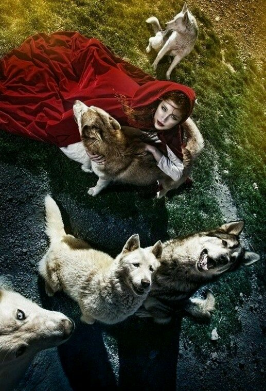 Entre Femme et Louve (Pour mes deux amis Indominus Wolf et LeLoup Virtuoz)