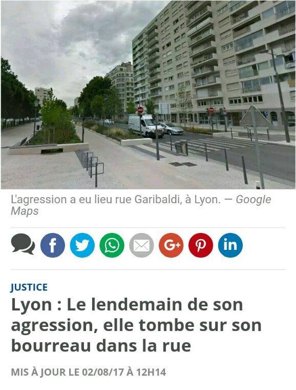 Agression de femme à Lyon