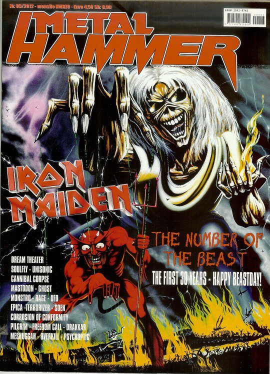 Métal Hammer / Iron Maiden
