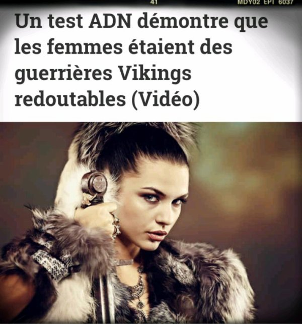 Un test ADN révèle que les femmes Vikings étaient de redoutables guerrières
