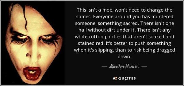Marylin Manson le nouvel album