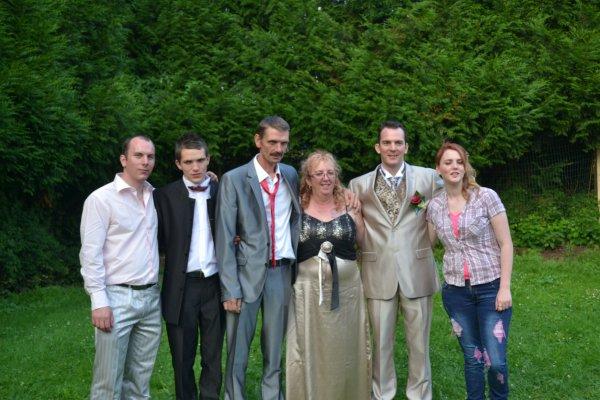 le 10/08/2013 le mariage du fils de mon frere