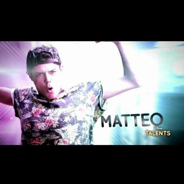 Matteo dans Disney Talent !!!