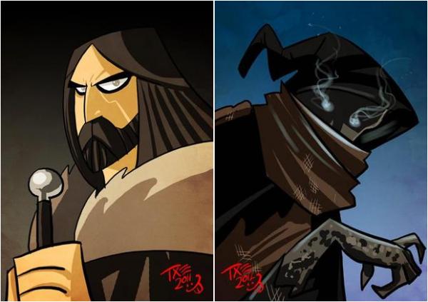Game of Thrones saison 3 : les personnages dans une étrange version dessin animé