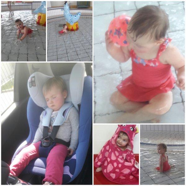 Activité piscine avec Nanou le mercredi après-midi