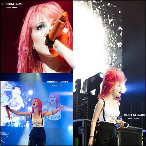 6/11/10 : Paramore était en concert à Dublin.