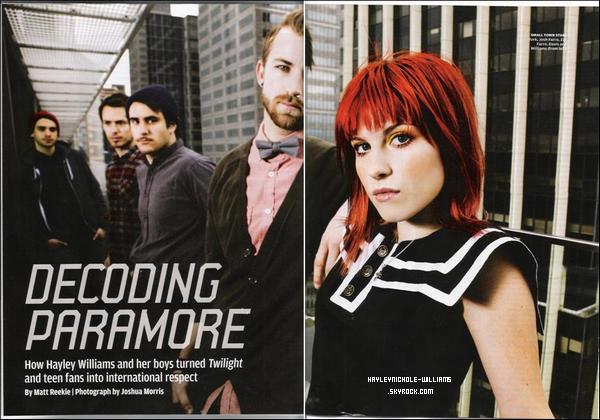 Voici un scan du magazine Rolling Stone australien du mois de décembre.