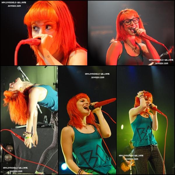 20/02/11 : Hayley et les autres membres de Paramore étaient de nouveau en concert, à Sao Paulo cette fois-ci.