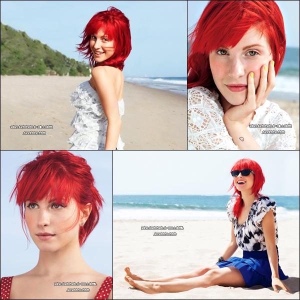 Découvrez un nouveau photoshoot absolument magnifique qu'Hayley a fait pour le Self Magazine.