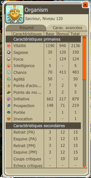 Stats Orga