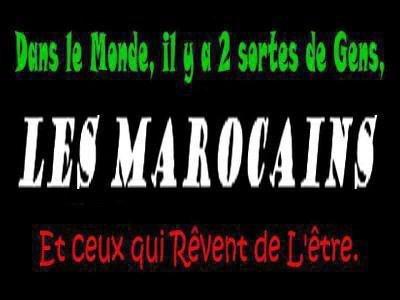 Marocain et fière de l être