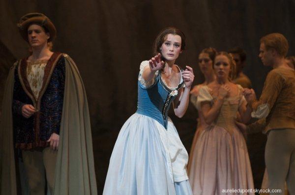 Giselle, scène de la folie