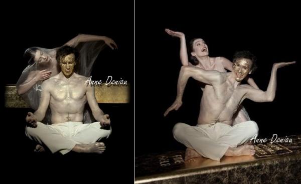 Photos promotionnelles Siddharta avec Nicolas le Riche
