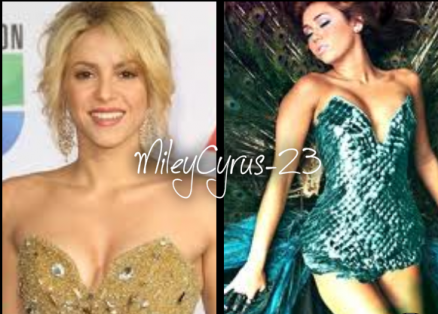 Miley Cyrus : Shakira, bientôt un duo ?