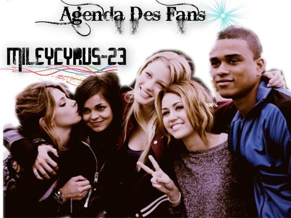 Agenda Des Fans