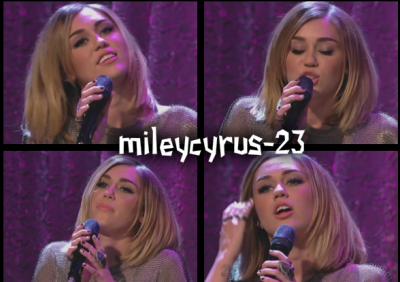 15.02.2012: Miley au Jimmy Kimmel Live