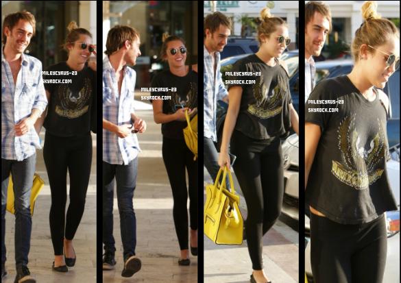 Miley Et Cheyne Thomas De Sortie Le 2 Mars