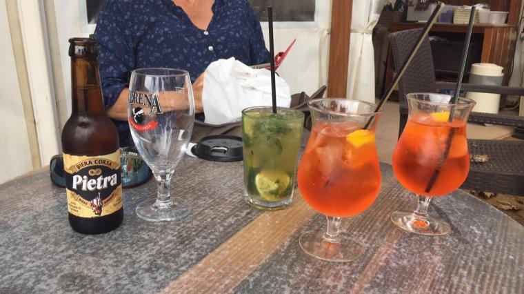 Dernière journée en Corse : L'Ile rousse où nous avons pris le bateau pour le retour
