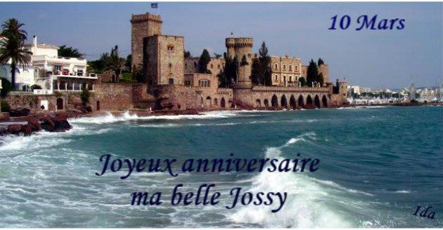 Anniversaire de mon amie Jossy (Manureva2014)