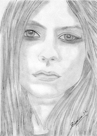 Portrait [ Avril Lavigne ]