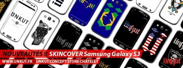 Les skincover Samsung Galaxy S3 dispo