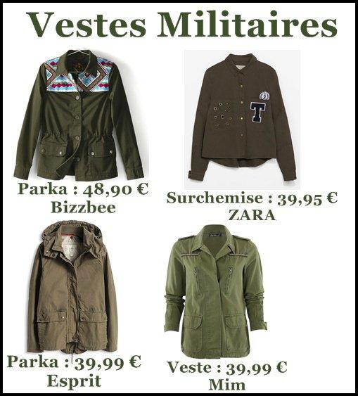 Vestes Militaires