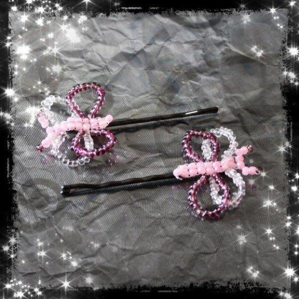Des Petites Barettes Papillons !