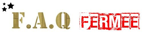 ★ 1 ans ! - F.A.Q