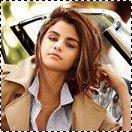 Planche d'avatars numéro 3; Selena Gomez.