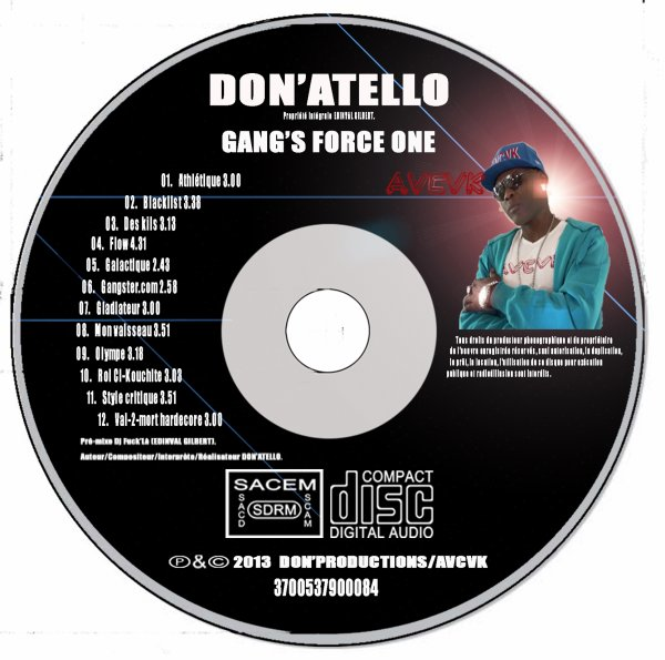 """Gang's force one"" album 2013"