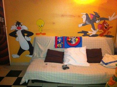 Articles De Decor Style Tagges Chambre Mario Bros Graffiti Looney