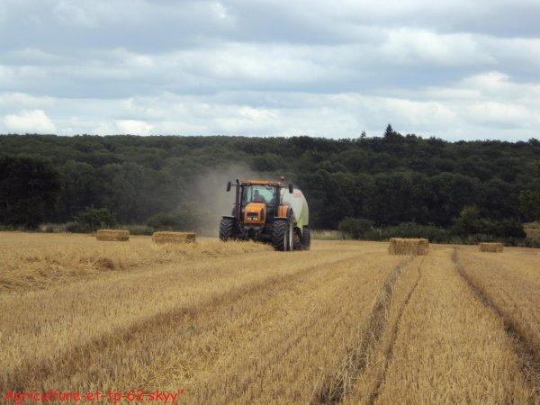 Pressage des blés 2010