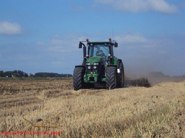Déchaumage des blés 2010