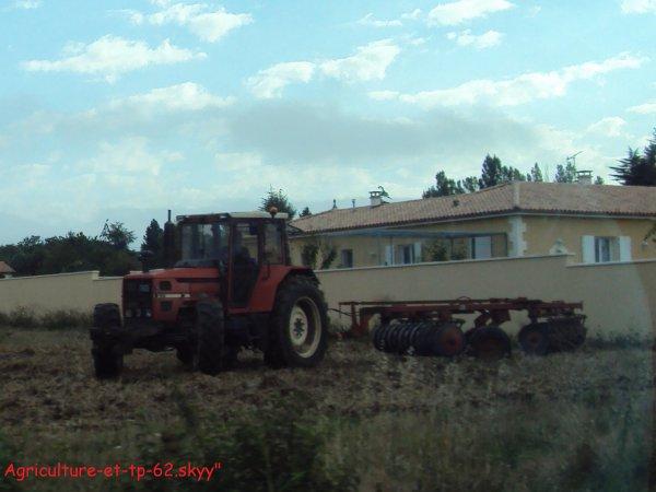 Déchaumage  (En Charente 2010)