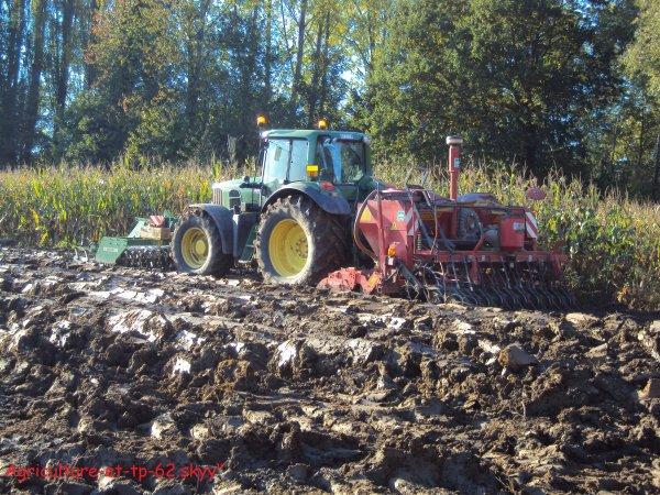 Semis des blés et labours 2010