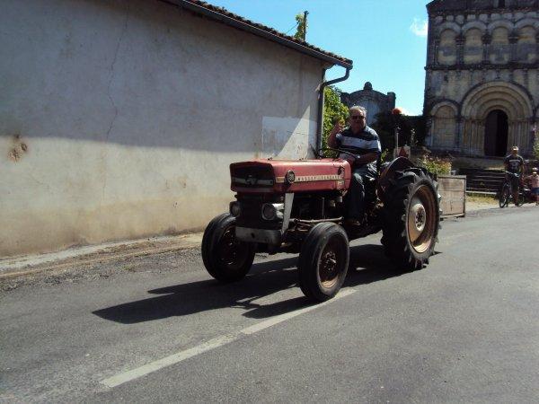 Sur la route (en Charente 16)