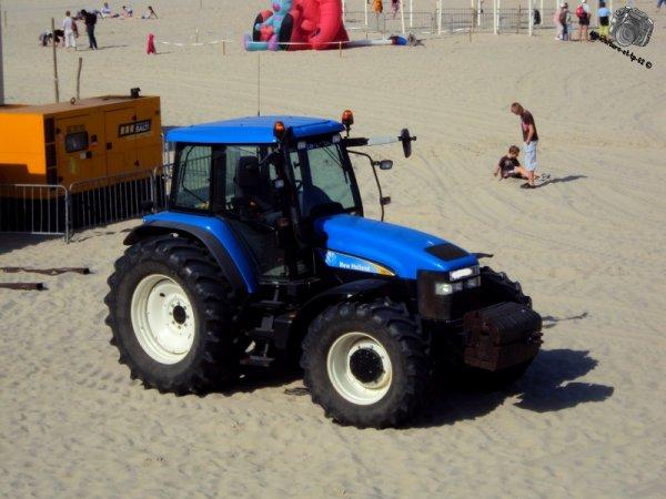 Sur la plage 2011