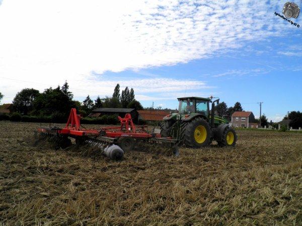 Déchaumage des blés 2011