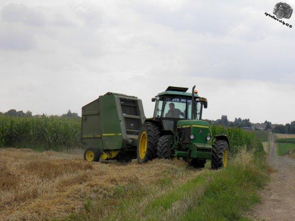 Pressage des blés 2011